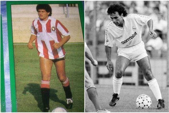 En la misma 88-89 Francisco Javier 'el Abuelo' Cruz probó suerte...