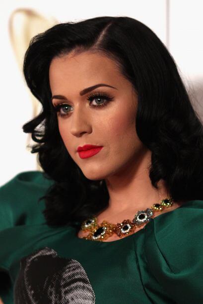 6. KATY PERRY- La cantante recientemente estrenada como empresaria, no s...