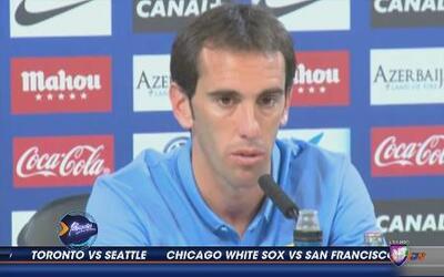 Diego Godín: 'Convencido de que vamos a llegar al 100%'