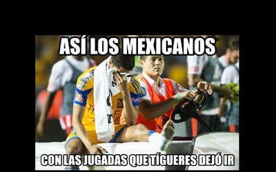 Memes de Tigres vs. River Plate