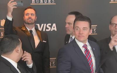 La ceremonia de premiación para los más destacados de la NFL