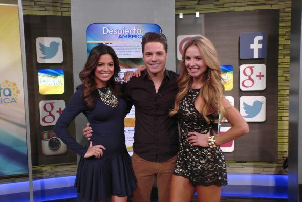 Pamela Silva y Ximena Córdoba acompañando a Will en su Rin...