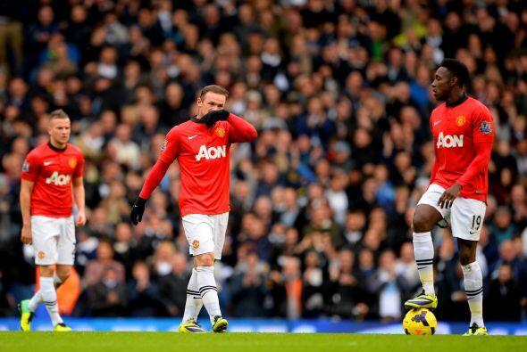 El United no estaba jugando su mejor partido y lo pagaba con el resultad...