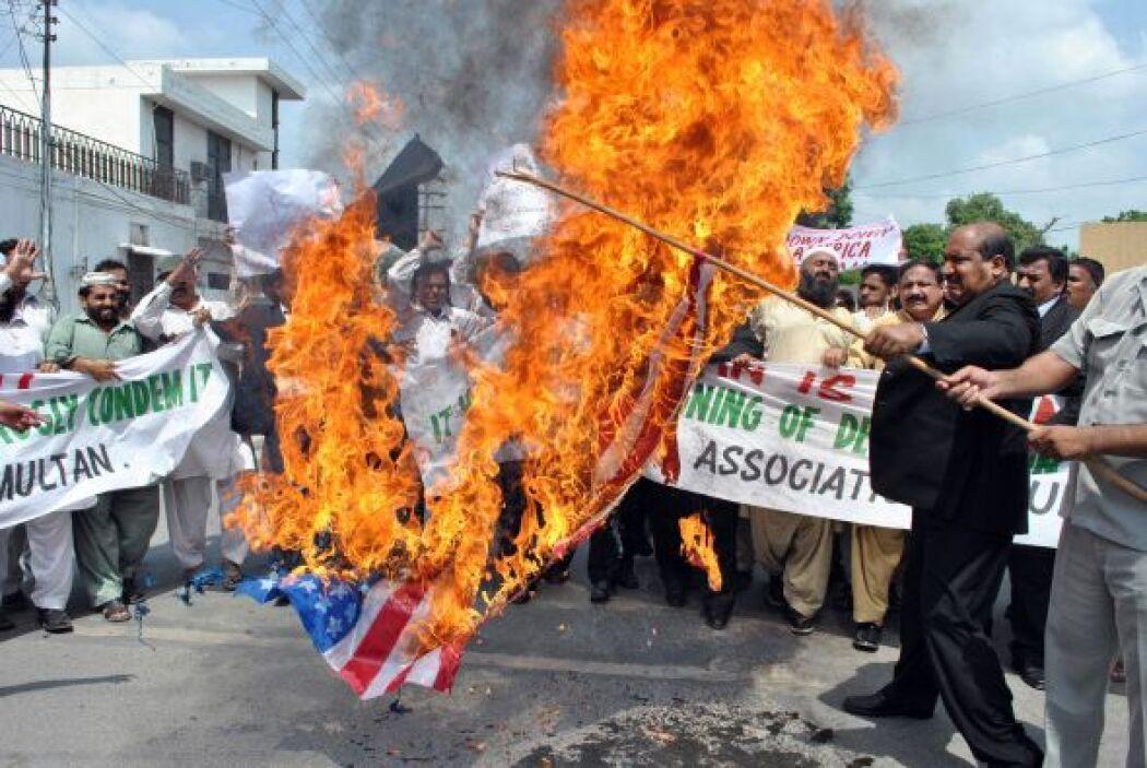 Cuando Jones anunció que iba a quemar el Corán en septiembre del año pas...