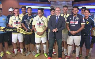 Entrevista América U-18 campeón Copa Univision