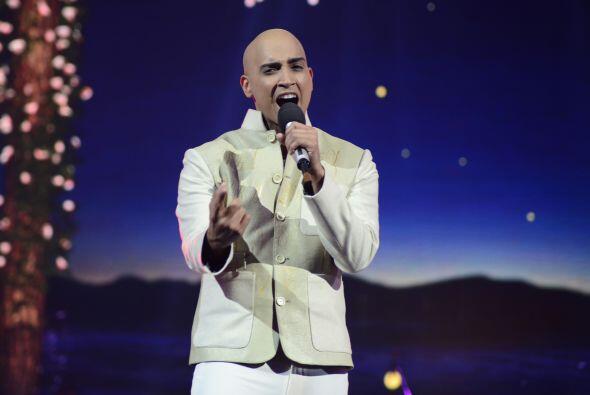 """José Palacio cantó su clásico """"Tal vez""""."""