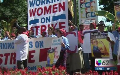 Piden más beneficios laborales, especialmente para mujeres embarazadas
