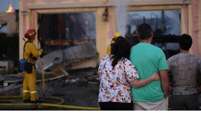 Alivio para habitantes de San Diego tras incendios