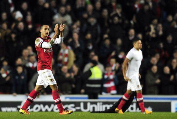 triunfo final del Arsenal para avanzar a la quinta ronda de la Copa.