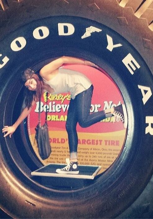 """""""This is going to be a #GOODYEAR"""", compartió Alejandra con todos sus seg..."""