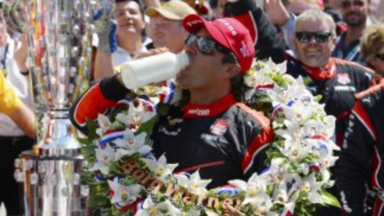 Juan Pablo Montoya gana el Indy 500 2015
