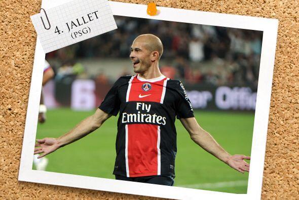 La línes defensiva se cierra con Christophe Jallet.