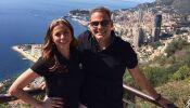 Las románticas vacaciones de Lourdes Stephen en Europa.