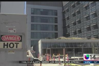 Denuncian fallas de constructora que remodelaría un centro médico de San...