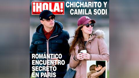 Revista Hola 'Chicharito' Hernández