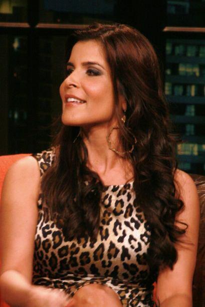 La modelo y conductora Adriana Cataño