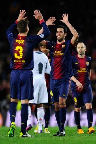 Triunfo final del Barcelona que volvió a mostrar su buen juego y la garr...