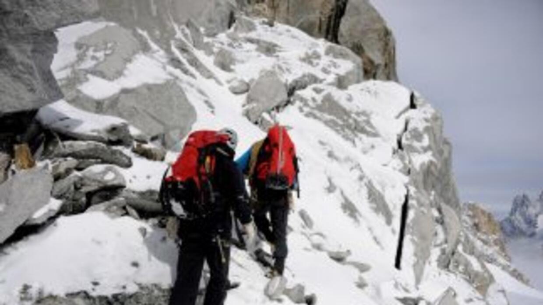¿Qué es lo que menos esperas encontrar en una elevada montaña nevada? Un...