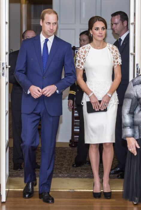 La duquesa de Cambridge nos sorprendió con su elección de vestuario para...
