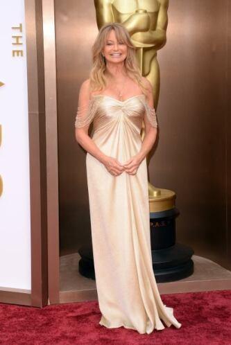 Los años ya le pasaron factura a Goldie Hawn, cuya elección fue terrible...