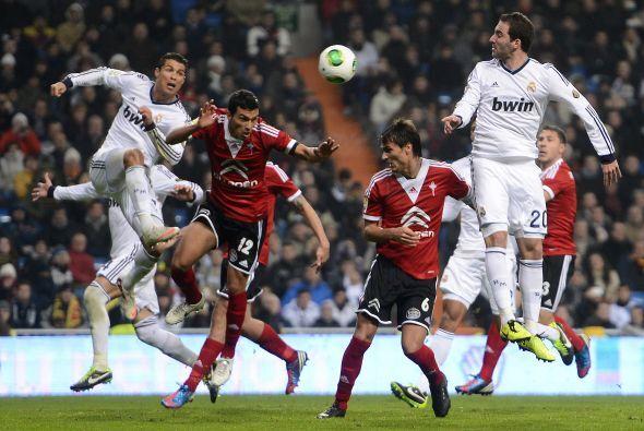 El Madrid tambiñen pudo sentenciar aprovechando que el Celta estaba volv...