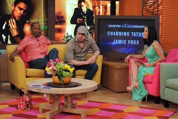 ¡Jamie confesó que llegó al programa directo de una fiesta con LeBron Ja...