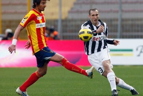 Poca fortuna tuvo otro de los llamados equipos 'grandes', la Juventus.