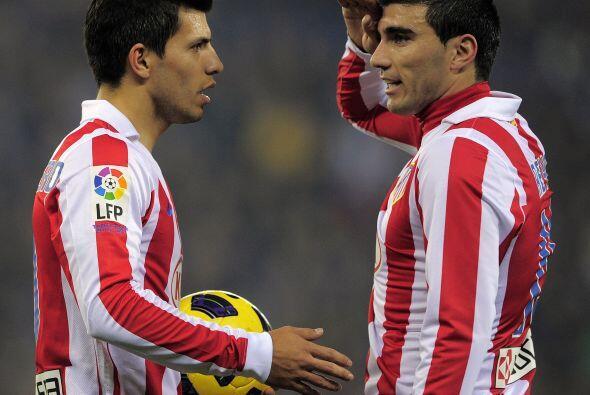 Para el segundo tiempo, el Atlético estaba a la espera de ver cómo saldr...