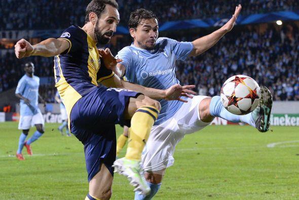 El Atlético de Madrid se colocó en lo más alto de su grupo al vencer de...