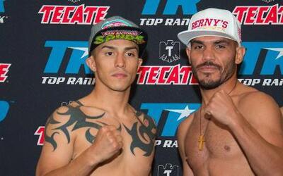 Ray Beltrán e Iván Nájera en peso y listos para 'Solo Boxeo'