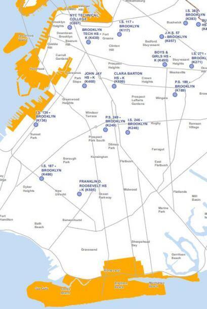 La tercera zona para la que se dictó evacuación obligatoria es el área d...
