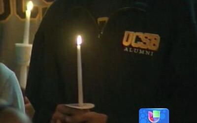 Víctimas de la matanza de la Universidad de California fueron recordadas