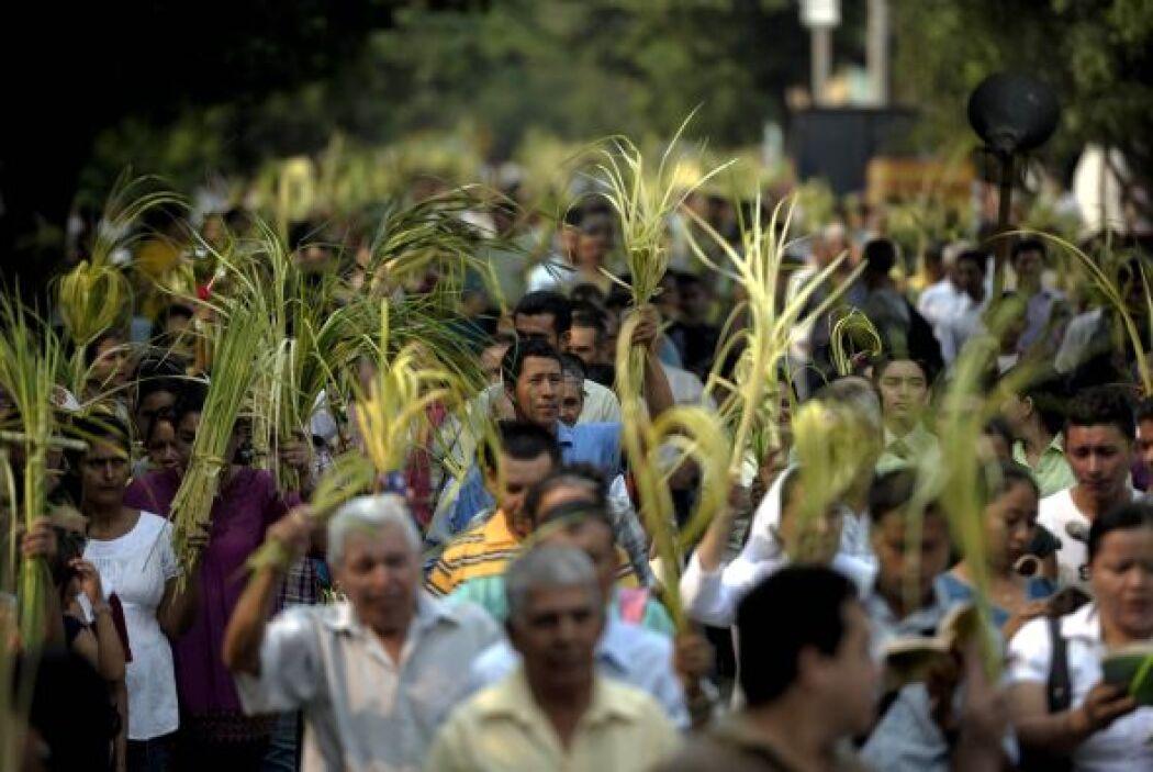 La Semana Santa comenzó en toda América Latina con el Domingo de Ramos....
