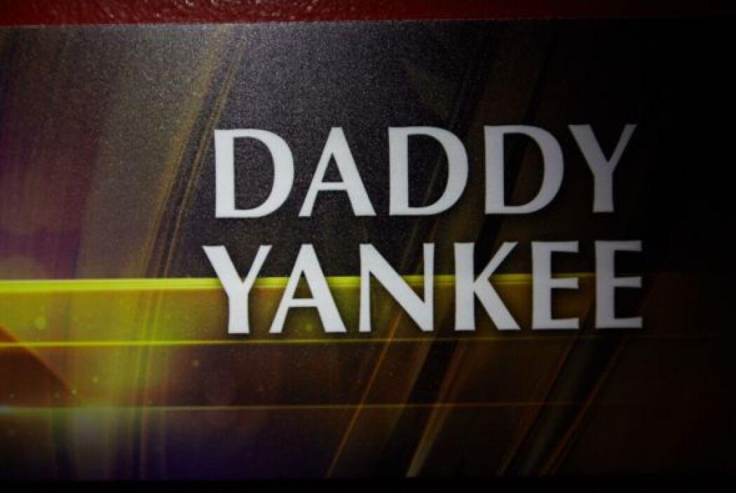 Daddy Yankee es otro de los invitados de lujo.