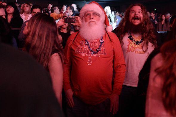 Hasta Santa estaba un poco desanimado ya que no fue precisamente un reci...