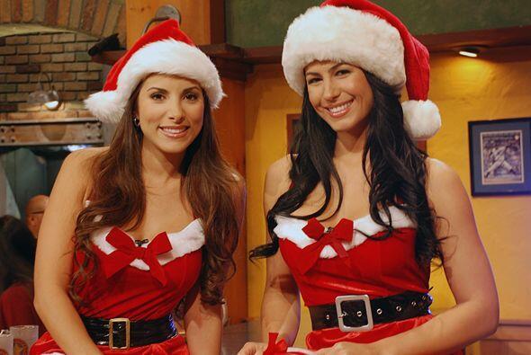 Nuestras Senadoras ya están con el espíritu navideño de este 2009.