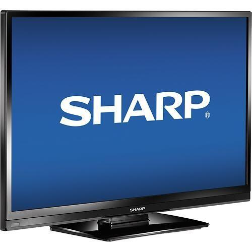 "Sharp HDTV LED: de 32"" (31-1/2"" medido en diagonal) - 1080p - 60Hz. Prec..."