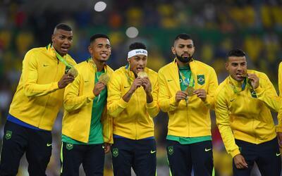Brasil rompió la maldición del oro olímpico