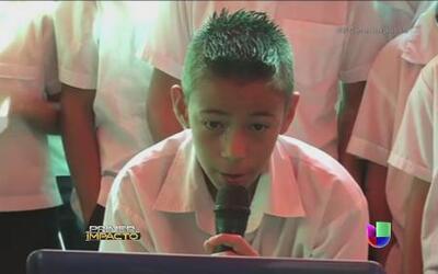Un niño en El Salvador cumplió su sueño al hablar con el papa Francisco