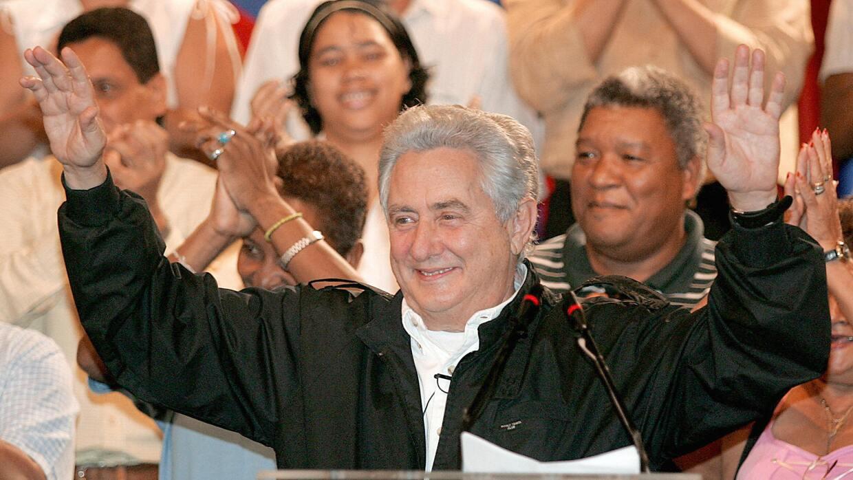 Henrique Salas Römer, exgobernador del estado Carabobo, en Venezuel...