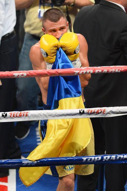 Lomachenko debutó ganando un cinturón y ya se habla de una...