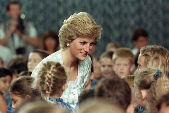 Para la princesa Diana era muy importante que los príncipes también toma...