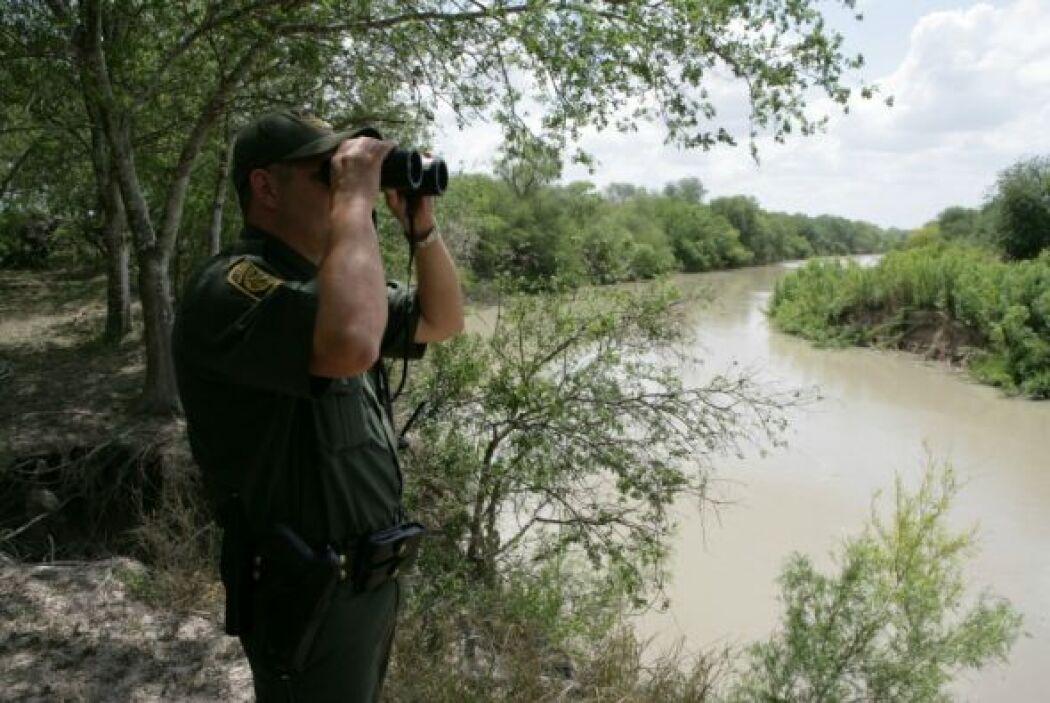 La Customs and Border Protection (CBP) es la encargada de vigilar las fr...