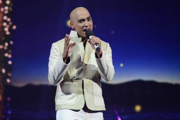 En la cuarta gala, José formó parte del primer segmento en honor al juez...