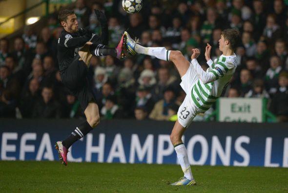 Los escoceses no pudieron equilibrar el partido.