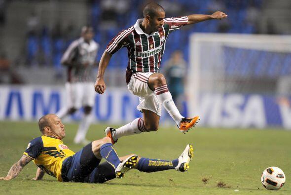 Vicente Matías Vuoso se la pasó corriendo y persiguiendo r...