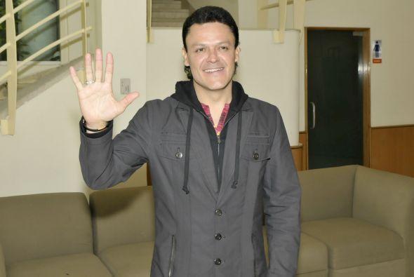 """A Pedro Fernández lo vemos con su """"Cachito de Cielo"""" en Univision."""
