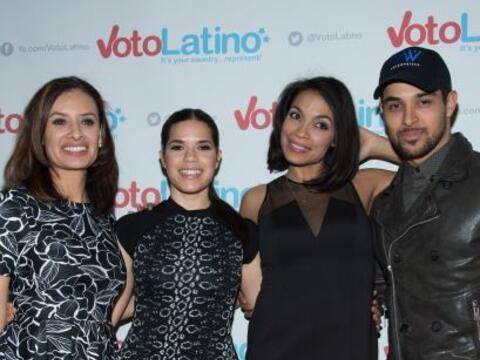 Varias celebridades hispanas se juntaron en Washington D.C. para conmemo...