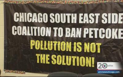 Emergencia por Pet Coke al sur de Chicago