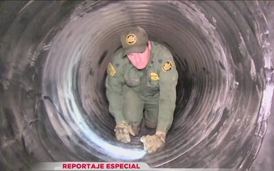Reportaje especial: Entrenamiento bajo la Tierra